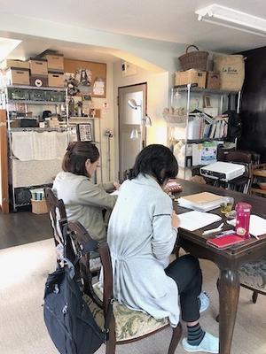 インストは精油化学の最終回 中間テストでした - 千葉の香りの教室&香りの図書室 マロウズハウス