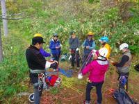 登山案内人の実技講習に行ってきました~。 - 乗鞍高原カフェ&バー スプリングバンクの日記②