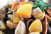 ■朝ご飯・和食【地味美味しい烏賊と根菜の煮付け/おじや】 - 「料理と趣味の部屋」