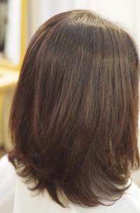 毛先パーマ残しの縮毛矯正 - 吉祥寺hair SPIRITUSのブログ