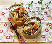 チキンカツ弁当とセサミブレッド♪ - ☆Happy time☆