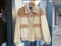 unused 80's Sovereign Sportswear boa jacket - BUTTON UP clothing