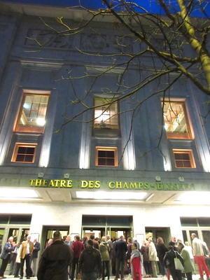 エリーナ・ガランチャ@シャンゼリゼ劇場(パリ8区)Elina Garanca a Theatre des Champs Elysees Paris - Paris Gourmand パリのおいしい日々3