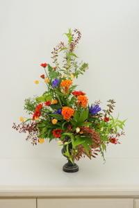 10月のNHK文化センター高等科の花は「ウインドミル」 - クレッセント日記