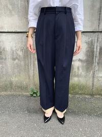 Olta design garments レイヤードスリットトラウザー - suifu