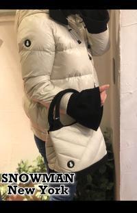 ニューヨーク発ダウンアウターブランド「SNOWMAN NEWYORK(スノーマンニューヨーク)」ミニトートバッグ入荷です。 - UNIQUE SECOND BLOG
