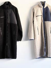 NOMA t.d.Fleece Long Coat - 『Bumpkins putting on airs』