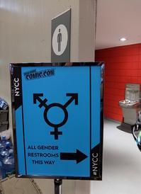 オール・ジェンダー・レストルーム(All Gender Restrooms)、男女兼用トイレ - ニューヨークの遊び方