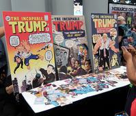 トランプ大統領がスーパーヒーローのアメコミ⁉ - ニューヨークの遊び方