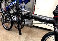 DAHON K3-NEWカラー・ガンメタル×ブラック - カルマックス タジマ -自転車屋さんの スタッフ ブログ