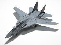 """マイクロエース 1/144 F-14A """"ブラックナイツ"""" (完成) - サンフィッシュ飛行隊"""