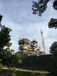 熊本城 - ひびののひび