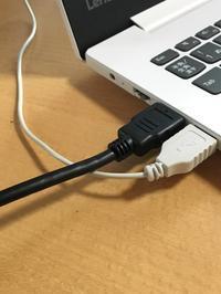 |便利アイテム| テレビと繋がるHDMIケーブル - 岐阜・整理収納アドバイザーのブログ・おちつくおうち