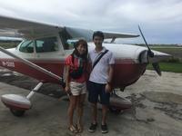 セスナの体験操縦 - ENJOY FLYING ~ セブの空