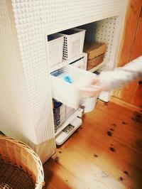 洗面所に収納棚をつくる!〜お金をかけないDIY - 暮らしをつくる、DIY*スプンク