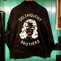 """Delinquent Bros """"The Delinquent Nylon Coach's Jacket"""" - ★ GOODY GOODY ★  -  ROCK'N ROLL SHOP"""