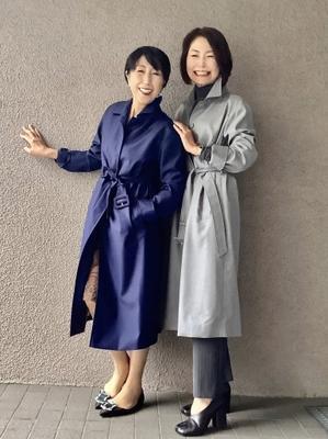 りえさん着画集・ウールスプリングコート - madameHのバラ色の人生