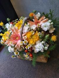 お供えの花 - 北赤羽花屋ソレイユの日々の花