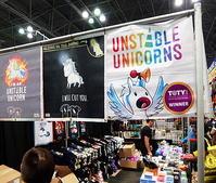"""ユニコーン関連グッズしか売ってない、""""Unstable Unicorns"""" - ニューヨークの遊び方"""