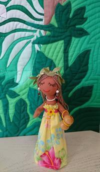 TYさんからキルトとド... - ほっと一息・・~Sakura's Hawaiian QuiltⅡ
