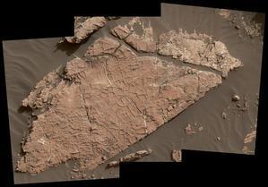 火星探査車キュリオシティが捉えた30億年前の岩 - 秘密の世界        [The Secret World]