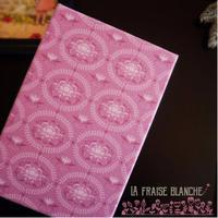 カルトナージュで『御朱印帳』 - 埼玉カルトナージュ教室 ~ La fraise blanche ~ ラ・フレーズ・ブロンシュ