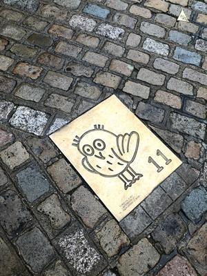 ディジョンのフクロウを探す旅 ? フクロウの道 - keiko's paris journal <パリ通信 - KSL>