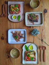 ピザトースト朝ごはん - 陶器通販・益子焼 雑貨手作り陶器のサイトショップ 木のねのブログ
