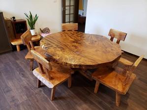 一枚板テーブル、無垢材家具 原木家具の祭り屋