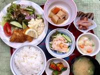 鯵フライ★(^^♪・・・・・800円ランチ - 日だまりカフェ