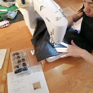 ・・・ freeing sewing  10月 ・・・ - コラージュな日々