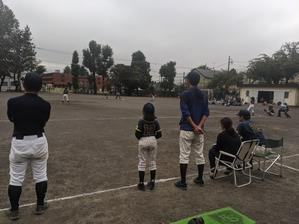 北多摩大会新人戦予選第一回戦 - 学童野球と畑とたまに自転車