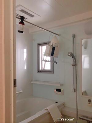 お風呂の綺麗をキープするために! - uri's room* 心地よくて美味しい暮らし