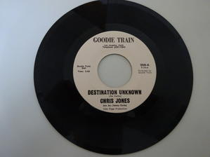 Chris Jones / Destination unknown (Goodie Train) sound clip - LOOKIN' FOR SOMETHIN' RARE