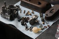 流れて詰まってカチカチで - vespa専門店 K.B.SCOOTERS ベスパの修理やらパーツやらツーリングやらあれやこれやと