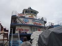 CARLOS ANTONIO 4号より一時下船してピラルクを食べに行った - kimcafeのB級グルメ旅