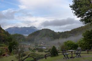 10月20日「朝刊」霧のマジックの中へ。。 - 開田のポッポ屋