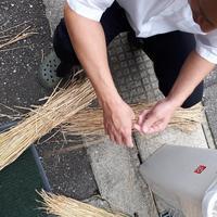 藁灰作り - 懐石椿亭(富山市)公式blog