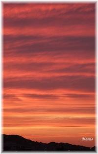 夕空の縞模様 - おだやかに たのしく Que Sera Sera