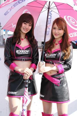 朝倉恵理子 さん & 今井みどり さん(EXEDY Racing Girls) - Digital juicy