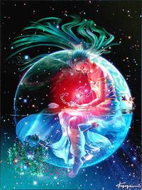 宙模様~10/28蠍座新月~ - aloha healing Makanoe