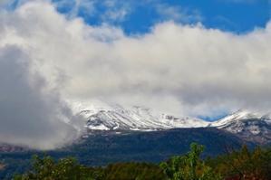 ついに!、乗鞍岳が初冠雪ですっ!! - 乗鞍高原カフェ&バー スプリングバンクの日記②