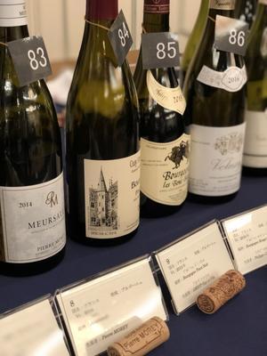 ワイン試飲会へ - 福岡のフランス菓子教室  ガトー・ド・ミナコ  2