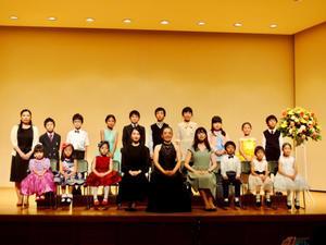 ピアノの発表会 - キャロルの日記 / ピアノスタジオ・ジャコメッティ
