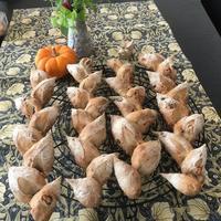 木ノ実のエピと照り焼きチキンブレッドレッスン - カフェ気分なパン教室  *・゜゚・*ローズのマリ