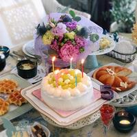 サプライズケーキ☆ - nico☆nicoな暮らし~うつわとおやつの物語