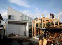 HOUSE-SI (佐野)は建方完了! - 島田博一建築設計室のWEEKLY  PHOTO / 栃木県 建築設計事務所