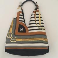 エルメスでスカーフバッグにリメイク - 妊婦さんの習い事「  ソーイング セラピー 」と      バッグデザイナーの暮らし