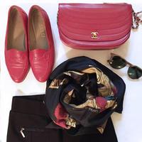 コーディネイト時短作戦は同色靴&バッグ - NY人生一瞬先はバラ色