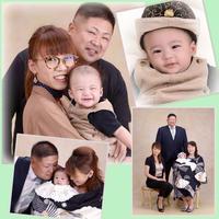 コハク君のお宮参り - 中山写真館のブログです。